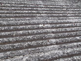 豊島区 屋根材の割れ