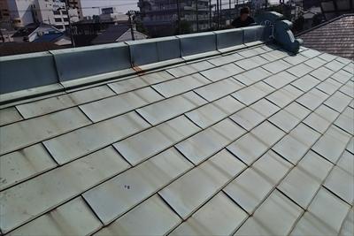 【銅製屋根 後付け雪止め】|【目黒区】