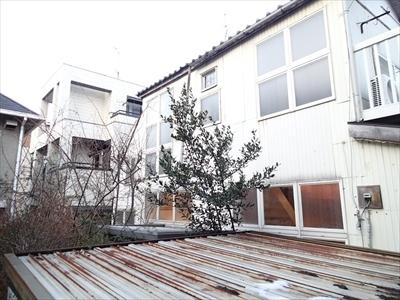 【落雪被害雨樋】渋谷区 恵比寿 和瓦 雨樋破損