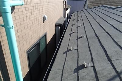 雨漏り点検 縁切り工事|中野区