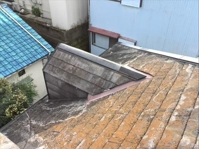 アパート屋根修理|コロニアル破損|棟板金飛散|目黒区