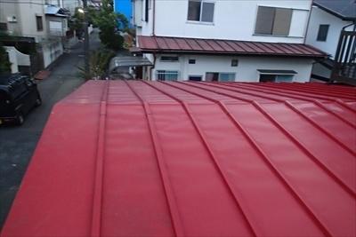 雨樋破損|トタン屋根点検|練馬区
