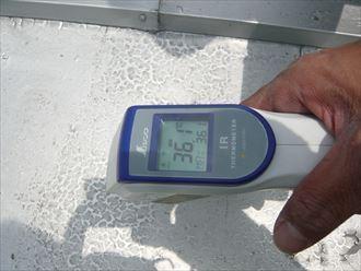 江東区 屋根温度調査