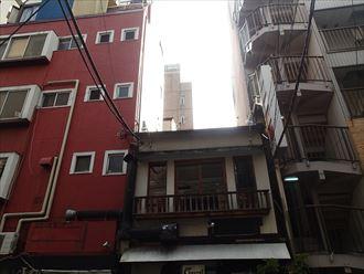 中央区|四階建てご自宅の雨樋交換のご相談を承りました