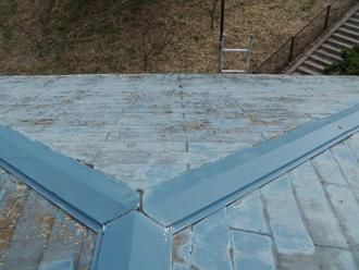 スレート屋根板金の劣化2