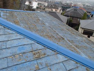 スレート屋根板金の劣化