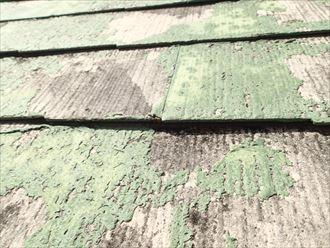 江戸川区 化粧スレートの損傷