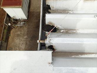 江戸川区 屋根材の腐食