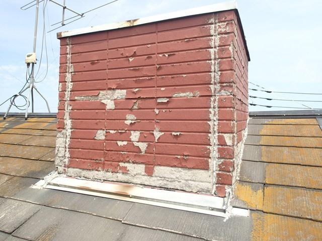 町田市 屋根装飾煙突