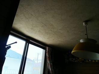 江戸川区 天井の雨漏り箇所