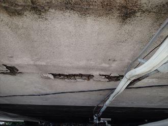 足立区 外壁の剥がれ