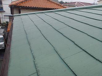 足立区 傾斜が緩い屋根