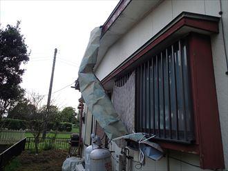 江戸川区 屋根材の剥がれ