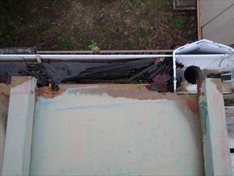 江戸川区 屋根先の腐食