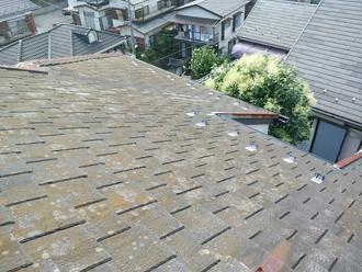 中野区でアーバニー劣化により屋根カバー工法をご提案