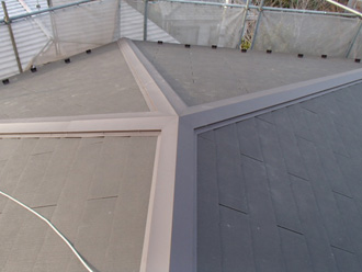 東京都北区|屋根葺き替え工事で傷んだ屋根を新しくしました