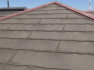 厚みのあるスレート屋根