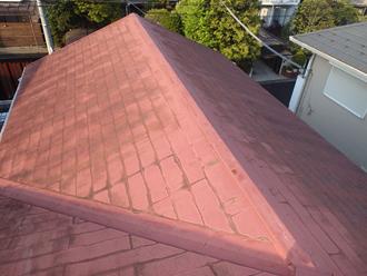 スレート屋根、コケの発生