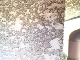 千代田区 塗膜が劣化しているので、汚れが目立ちます