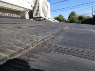 スレート屋根 割れ、欠け