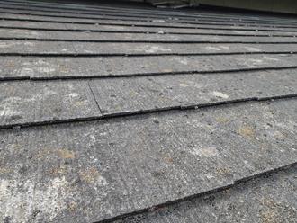 スレート屋根、屋根材の劣化