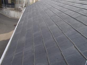 江東区 雪止め金具設置前の屋根