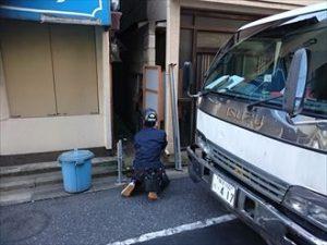 墨田区H様足場004