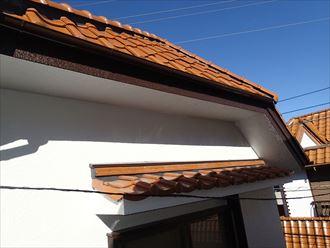 樋交換、外壁塗装、棟漆喰