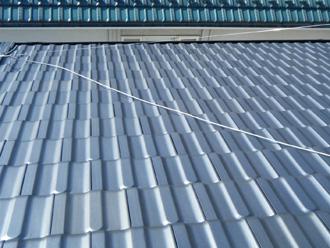 新宿区 雪止め金具の設置前の屋根