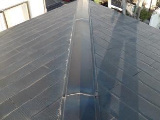 台東区|屋根カバー前点検で雨樋破損なども発覚