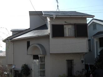 豊島区 屋根葺き替え工事前の点検