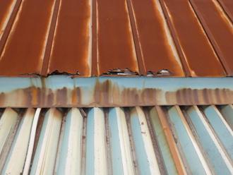 折半屋根、瓦棒屋根