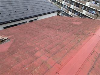 足立区 スレート屋根
