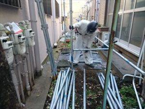 豊島区アパート工事着工010