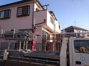 江戸川区ベランダ壁改修004