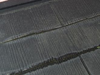 墨田区 屋根カバー工法前の屋根点検  表面がざらついている