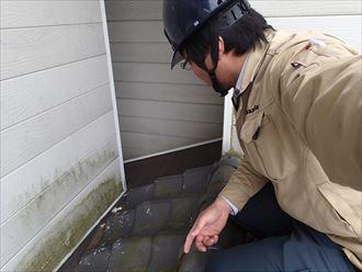 足立区 瓦屋根調査