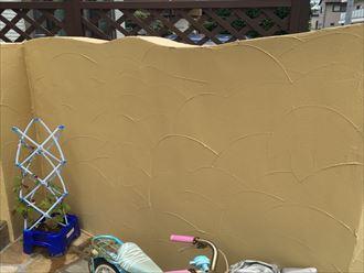 擁壁塗装完了