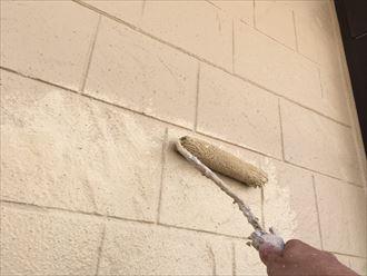 外壁,中塗り,上塗り