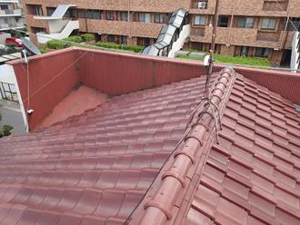 Kアパート様屋根葺き替えビフォア
