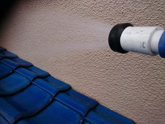 足立区瓦雨漏り散水006
