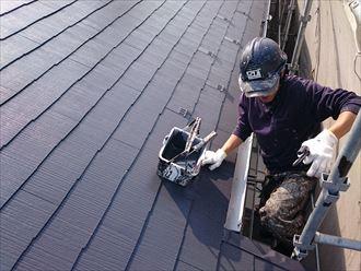 江戸川区アパート屋根塗装確認001