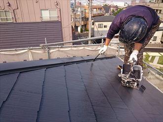 江戸川区アパート屋根塗装確認003