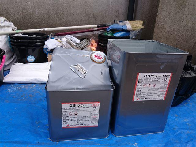 江戸川区ベランダ防水工事終了大001