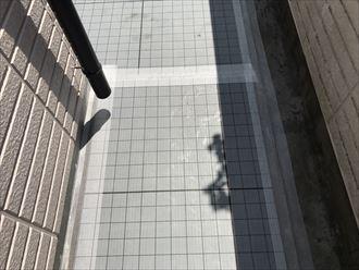 江戸川区モルタル防水施工2日目006