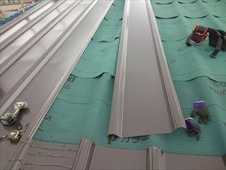 葛飾区屋根カバー完成005