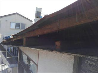 葛飾区屋根カバー設置001