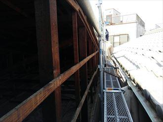 葛飾区屋根カバー設置002
