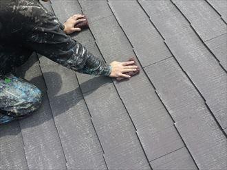 江戸川区アパート屋根塗装002