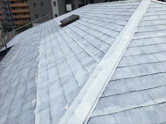 江戸川区アパート屋根塗装008